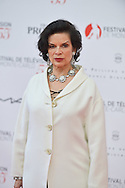 Bianca Jagger on the red carpet for the inauguration of the Monte-Carlo Film Festival of Television. Monte-Carlo, 13 june 2015, Monaco