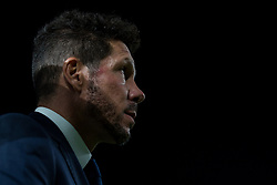 October 25, 2017 - Elche, Elche, Spain - Diego Pablo Simeone head coach of Atletico de Madrid during the Spanish Copa del Rey (King's Cup) round of 32 first leg football match between.Elche CF and Atletico de Madrid at the Martinez Valero stadium in Elche (Credit Image: © Sergio Lopez/Pacific Press via ZUMA Wire)