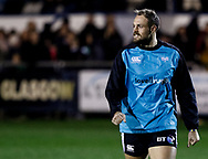 Cory Allen of Ospreys during the pre match warm up<br /> <br /> Photographer Simon King/Replay Images<br /> <br /> Guinness PRO14 Round 7 - Ospreys v Connacht - Friday 26th October 2018 - The Brewery Field - Bridgend<br /> <br /> World Copyright &copy; Replay Images . All rights reserved. info@replayimages.co.uk - http://replayimages.co.uk