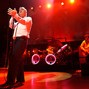 "BETHESDA, MD, DC - January 16th, 2013 - British music legend Morrissey (front) performs at the Strathmore Music Hall with Boz Boorer, Solomon Walker, Anthony Burulcich and Jesse Tobias. His set included solo hits like ""Everyday Is Sunday"" as well as material from The Smiths, such as ""Still Ill.""( Photo by Kyle Gustafson/For The Washington Post)"