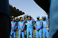 Mithali Raj captain of India speaks her teammates before the start of the second women's one day International ( ODI ) match between India and Australia held at the Reliance Cricket Stadium in Vadodara, India on the 15th March 2018<br /> <br /> Photo by Vipin Pawar / BCCI / SPORTZPICS