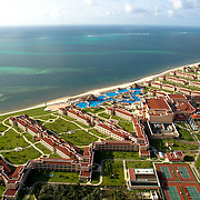 Aerial photo of the Moon Palace Resort in Cancun. Quintana Roo. Mexico.