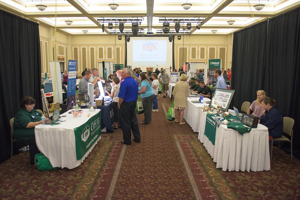 The 1st Annual Supplier Fair was held at Ohio University's Baker Center Ballroom on September 7, 2016.