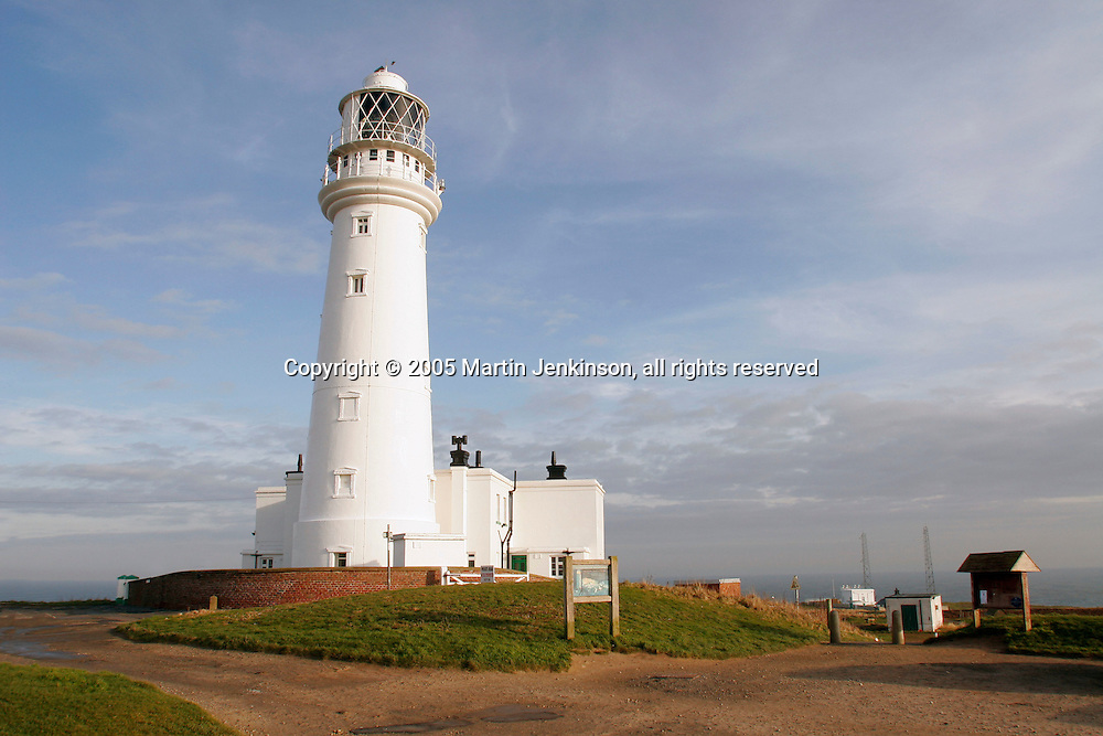 Flamborough Head Lighthouse, near Bridlington.