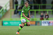 Forest Green Rovers Dayle Grubb(8) on the ball during the EFL Sky Bet League 2 match between Forest Green Rovers and Grimsby Town FC at the New Lawn, Forest Green, United Kingdom on 17 August 2019.