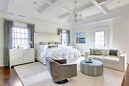 Westchester home, master bedroom. Designed by 914 Interiors.