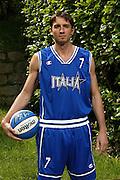 SONDRIO, ESTATE 2002<br /> POSATI NAZIONALE ITALIANA MASCHILE<br /> NELLA FOTO: ALESSANDRO TONOLLI<br /> FOTO CIAMILLO