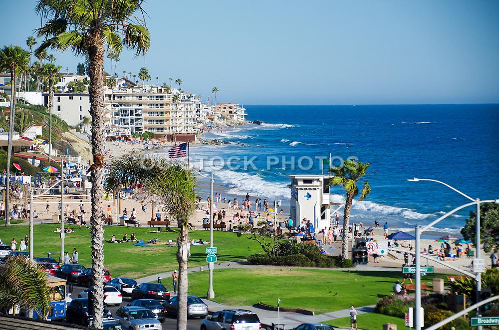 Laguna Beach Ocean View from Pacific Coast Highway