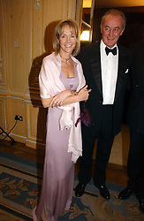 The DUKE & DUCHESS OF ROXBURGHE at the Cartier Racing Awards 2006 held at the Four Seasons Hotel, Hamilton Place, London on 15th November 2006.<br />
