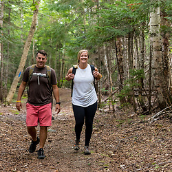 A couple hikes on the Gardner Loop Trail, near Crater Pond in Aroostook County, Maine. Deboullie Public Reserve Land.