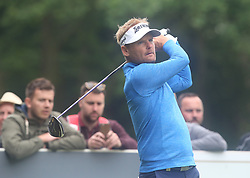 May 25, 2018 - Virginia Water, England, United Kingdom - Soren Kjeldsen (DEN).during The BMW PGA Championship Round 2 at Wentworth Club Virginia Water, Surrey, United Kingdom on 25 May 2018  (Credit Image: © Kieran Galvin/NurPhoto via ZUMA Press)