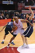 DESCRIZIONE : Milano Eurolega 2011-12 EA7 Emporio Armani Milano Anadolu Efes Istanbul<br /> GIOCATORE : Omar Cook<br /> CATEGORIA : Palleggio Fallo<br /> SQUADRA : EA7 Emporio Armani Milano<br /> EVENTO : Eurolega 2011-2012<br /> GARA : EA7 Emporio Armani Milano Anadolu Efes Istanbul<br /> DATA : 03/11/2011<br /> SPORT : Pallacanestro <br /> AUTORE : Agenzia Ciamillo-Castoria/A.Dealberto<br /> Galleria : Eurolega 2011-2012<br /> Fotonotizia : Milano Eurolega 2011-12 EA7 Emporio Armani Milano Anadolu Efes Istanbul<br /> Predefinita :