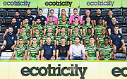 Official First team photo 2019/20 during the official team photocall for Forest Green Rovers at the New Lawn, Forest Green, United Kingdom on 29 July 2019.