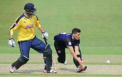 Benny Howell of Gloucestershire attempts to catch the ball  - Photo mandatory by-line: Dougie Allward/JMP - Mobile: 07966 386802 - 14/07/2015 - SPORT - Cricket - Cheltenham - Cheltenham College - Natwest T20 Blast