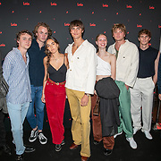NLD/Amsterdam/201905231 - Herintroductie spijkerbroekenmerk Lois, Jordan Barrett en vrienden
