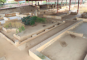 Casa del Mitreo Roman villa site, Merida, Extremadura, Spain