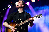 Josh Ritter and the Royal City Band perform at Sisters High School Tues. January 23, 2018. SFF / Rob Kerr<br /> <br /> Josh Ritter / guitar, vocals<br /> Zack Hickman / bass, guitar, vocals<br /> Sam Kassirer / keyboards, accordion<br /> Ray Rizzo / drums, vocals<br /> Josh Kaufman / guitar, vocals
