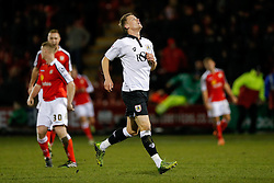 Matt Smith of Bristol City looks dejected - Photo mandatory by-line: Rogan Thomson/JMP - 07966 386802 - 20/12/2014 - SPORT - FOOTBALL - Crewe, England - Alexandra Stadium - Crewe Alexandra v Bristol City - Sky Bet League 1.