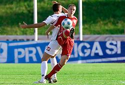 Blaz Bozic of Interblock at the football match Interblock vs NK Luka Koper in 12th Round of Prva liga 2009 - 2010,  on October 03, 2009, in ZSD Ljubljana, Ljubljana, Slovenia. Luka Koper won 1:0.  (Photo by Vid Ponikvar / Sportida)