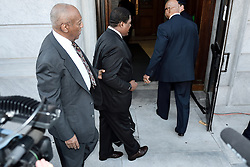 Norristown, PA., USA - May 24, 2016; Bill Cosby enters Montgomery County Courthouse in Norristown, PA for a preliminary hearing in the sexual assault case against him.