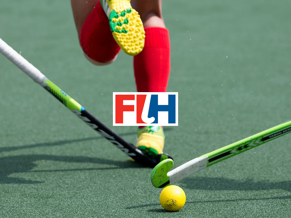 THE HAGUE - Rabobank Hockey World Cup 2014 - 2014-06-02 - WOMEN - Korea - New-Zealand - 1-0 - Stock - Sticks and bal<br /> Copyright: Willem Vernes