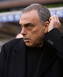 BIRMINGHAM, ENGLAND - Saturday, January 19, 2008: Chelsea's manager Avram Grant before the Premiership match against Birmingham City at St Andrews. (Photo by David Rawcliffe/Propaganda)