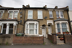 © licensed to London News Pictures. London, UK. 17/05/2013. The childhood home of David Beckham in Leytonstone, East London which is valued at over £1m. Photo credit: Tolga Akmen/LNP