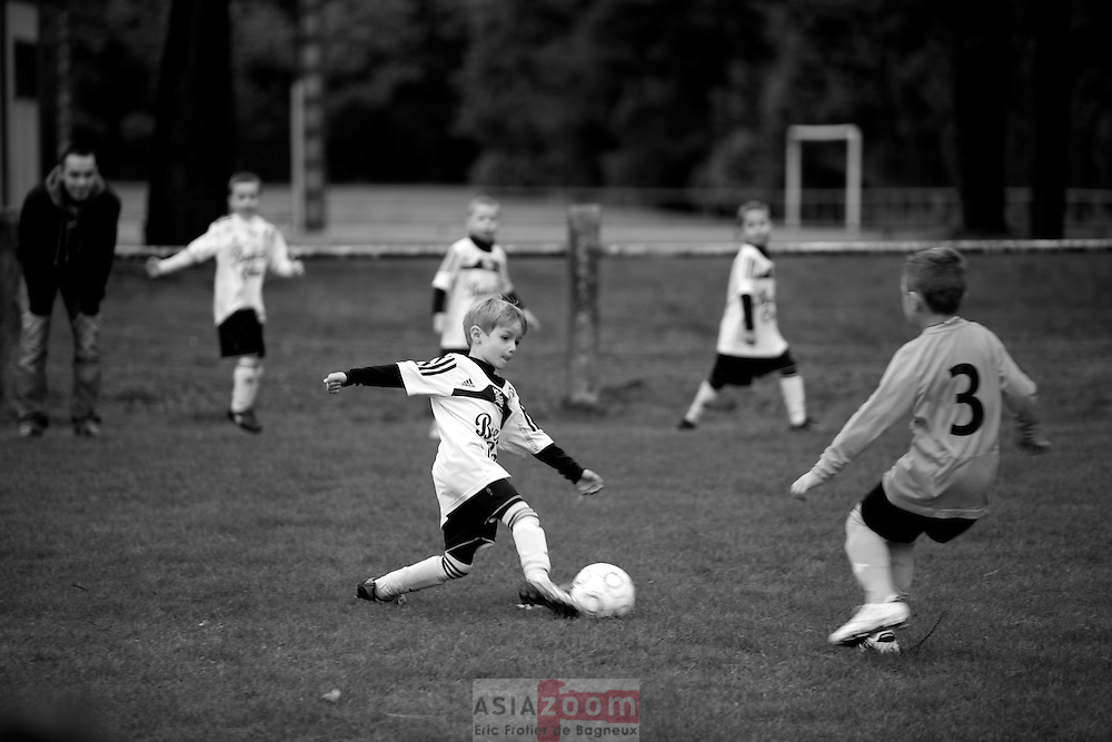 Match de l'école de Football du Vannes Olympic Club a St Avé