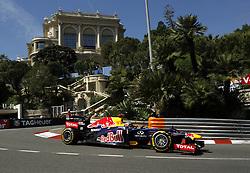 Formula One World Championship 2012 Grand Prix Monaco. 1 Sebastian Vettel (GER, Red Bull Racing during practice. Thursday May 24, 2012. Photo By imago/i-Images
