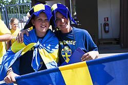 21.07.2013, Oerjans Vall, Halmstad, UEFA Damen Euro, Schweden vs Island, im Bild visitors // during UEFA Womens Euro Match between Sweden and Iceland at Oerjans Vall, Halmstad, Sweden on 2013/07/21. EXPA Pictures © 2013, PhotoCredit: EXPA/ PicAgency Skycam/ Liz-Marie Wretborn Falk<br /> <br /> ***** ATTENTION - OUT OF SWE *****