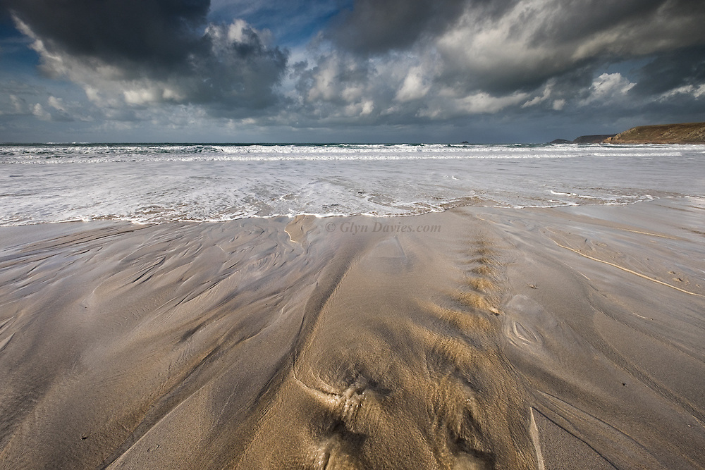 "Loving Connections"" Sennen Cove, Cornwall (Jan 2016) - Fantastic light and wide open spaces on this huge white sand beach in South West Cornwall. I loved the rivulets from the surroundings hills, tumbling across the beach towards the open sea. We have been blessed this trip, with gorgeous light, warm temperatures and super company."