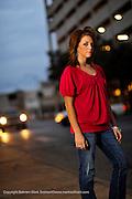 Brittany. Photographed 1-26-09 at downtown San Antonio..PHOTO © BAHRAM MARK SOBHANI