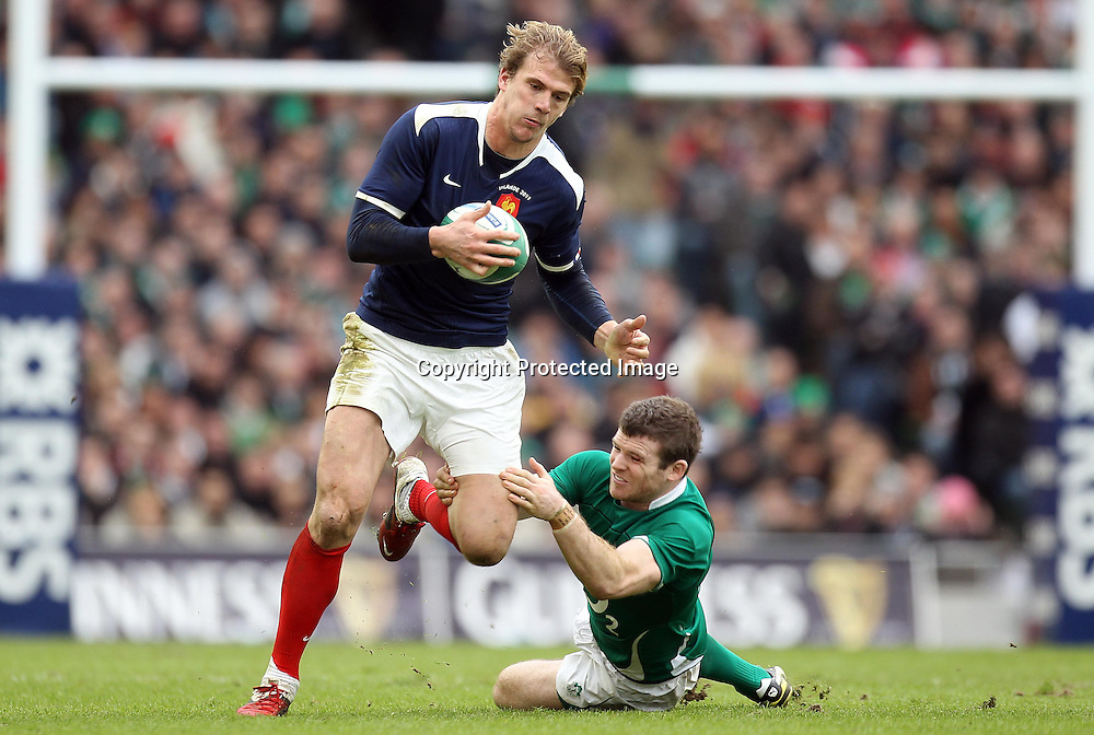 RBS Six Nations Championship, Aviva Stadium, Dublin 13/2/2011<br />