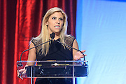 Tina Hovsepian of Los Angeles, Cal., recipient of one of the six Core Principle Awards, the Respect award, at the fourth annual Muhammad Ali Humanitarian Awards Saturday, Sept. 17, 2016 at the Marriott Hotel in Louisville, Ky. (Photo by Brian Bohannon for the Muhammad Ali Center)