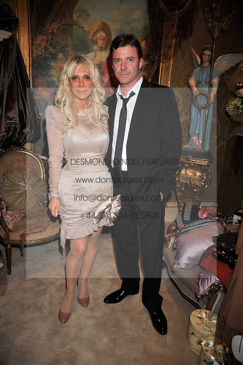 GAIL BERRY and RICHARD McGEE at the opening party for the new Gail Berry emporium at 187 New Kings Road, London SW6 on 30th September 2009.<br /> <br /> <br /> <br /> BYLINE MUST READ: donfeatures.com<br /> <br /> *THIS IMAGE IS STRICTLY FOR PAPER, MAGAZINE AND TV USE ONLY - NO WEB ALLOWED USAGE UNLESS PREVIOUSLY AGREED. PLEASE TELEPHONE 07092 235465 FOR THE UK OFFICE.*