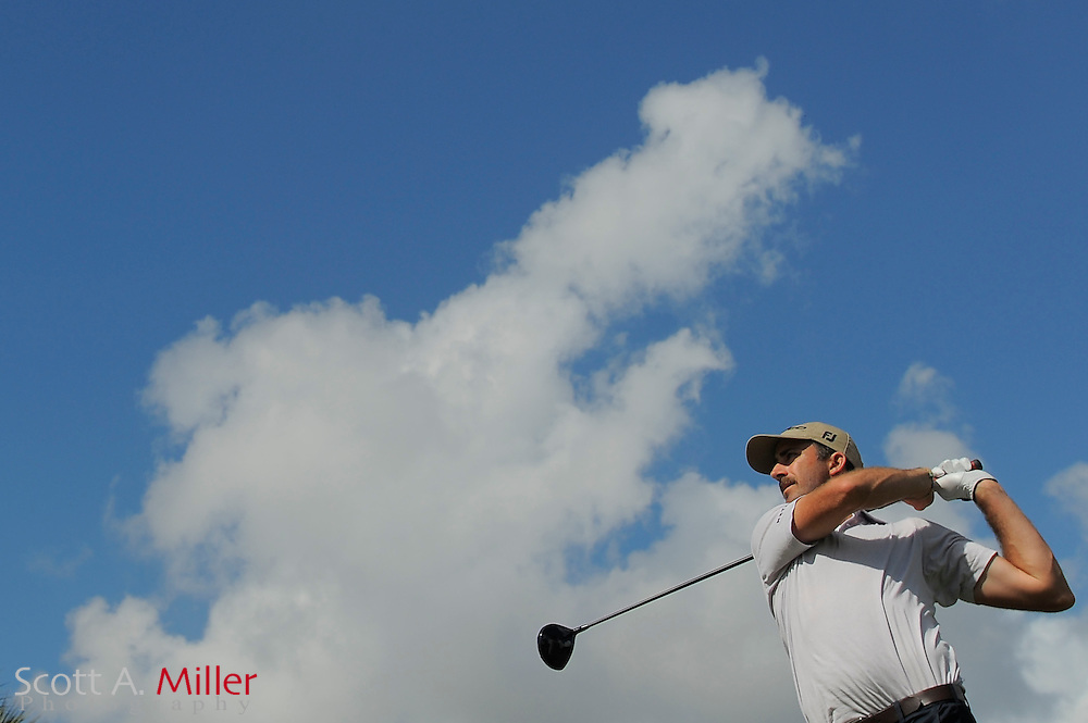 Geoff Ogilvy during the third round of the World Golf Championship Cadillac Championship on the TPC Blue Monster Course at Doral Golf Resort And Spa on March 10, 2012 in Doral, Fla. ..©2012 Scott A. Miller.