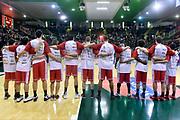 DESCRIZIONE : Avellino Lega A 2014-2015 Sidigas Avellino Grissinbon Reggio Emilia<br /> GIOCATORE : team<br /> CATEGORIA : presentazione pregame<br /> SQUADRA : Grissinbon Reggio Emilia<br /> EVENTO : Campionato Lega A 2014-2015<br /> GARA : Sidigas Avellino Grissinbon Reggio Emilia<br /> DATA : 15/11/2014<br /> SPORT : Pallacanestro<br /> AUTORE : Agenzia Ciamillo-Castoria/GiulioCiamillo<br /> GALLERIA : Lega Basket A 2014-2015<br /> FOTONOTIZIA : Avellino Lega A 2014-2015 Sidigas Avellino Grissinbon Reggio Emilia<br /> PREDEFINITA :