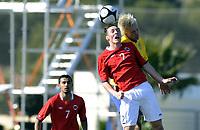 Fotball<br /> La Manga 2012<br /> 09.02.2012<br /> Landskamp G19<br /> Norge v Sverige 1:0<br /> Norway v Sweden 1:0<br /> Foto: Morten Olsen, Digitalsport<br /> <br /> Magnar Ødegård - NOR (2)