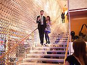 IDRIS KHAN; SARAH MORRIS, Louis Vuitton openingof New Bond Street Maison. London. 25 May 2010. -DO NOT ARCHIVE-© Copyright Photograph by Dafydd Jones. 248 Clapham Rd. London SW9 0PZ. Tel 0207 820 0771. www.dafjones.com.