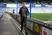 Paul Downing (5) of Portsmouth arrives ahead of the EFL Sky Bet League 1 match between Portsmouth and Ipswich Town at Fratton Park, Portsmouth, England on 21 December 2019.