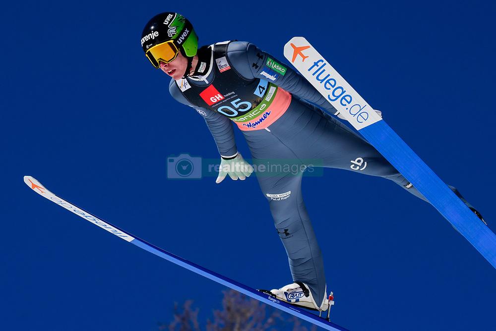 March 23, 2019 - Planica, Slovenia - Timi Zajc of Slovenia in action during the team competition at Planica FIS Ski Jumping World Cup finals  on March 23, 2019 in Planica, Slovenia. (Credit Image: © Rok Rakun/Pacific Press via ZUMA Wire)