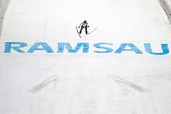 14.12.2012, Skisprunganlage, Ramsau, AUT, FIS Ski Sprung Weltcup, Damen, im Bild Coline Mattel (FRA) during womens FIS Ski Jumping world cup at the Skijumping Arena, Ramsau, Austria on 2012/12/14. EXPA Pictures © 2012, EXPA/ Federico Modica