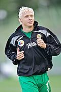09/08/2008 Wroclaw Mecz o mistrzostwo Ekstraklasy WKS Slask Wroclaw - Lechia Gdansk zakonczony remisem 1:1..NZ Mariusz Pawelec