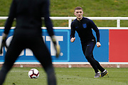Kieran Trippier (Tottenham Hotspur)  during the England training session ahead of the UEFA Euro Qualifier against the Czech Repulbic, at St George's Park National Football Centre, Burton-Upon-Trent, United Kingdom on 19 March 2019.