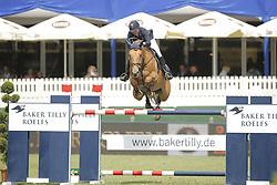 Liebherr, Christina, L.B. Midship du Borda<br /> Hamburg - Hamburger Derby 2015<br /> Baker Tilly Roelfs Trophy<br /> © www.sportfotos-lafrentz.de/Stefan Lafrentz