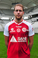 Alexi Peuget - 21.10.2014 - Photo officielle Reims - Ligue 1 2014/2015<br /> Photo : Philippe Le Brech / Icon Sport