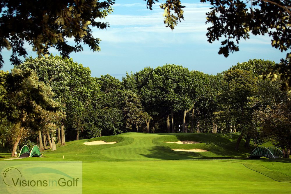 040906 Chicago  The third hole, Ararat, at Olympia Fields Country Clubs north course.delow<br /> <br /> Photo Visions In Golf/Christer Hoglund