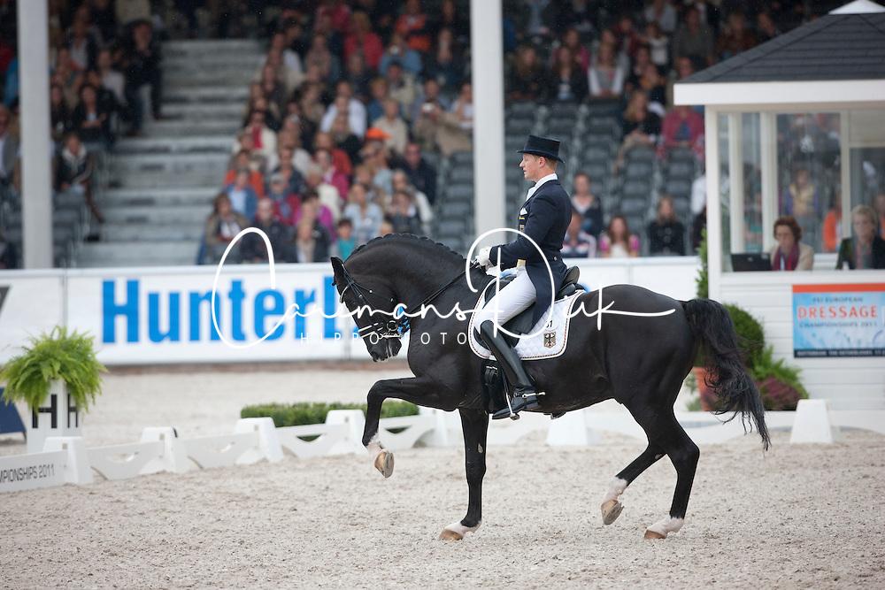 Rath Mathias Alexander (GER) - Totilas<br /> European Championships Dressage - Rotterdam 2011<br /> &copy; Dirk Caremans