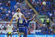 Matt Smith for Fulham  during the Sky Bet Championship match between Cardiff City and Fulham at the Cardiff City Stadium, Cardiff, Wales on 8 August 2015. Photo by Shane Healey.