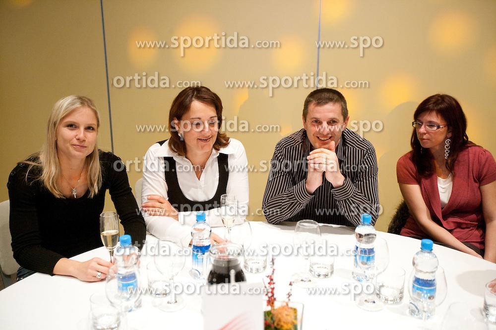 Marina Tomic during the Slovenia's Athlete of the year award ceremony by Slovenian Athletics Federation AZS, on November 12, 2008 in Hotel Mons, Ljubljana, Slovenia.(Photo By Vid Ponikvar / Sportida.com) , on November 12, 2010.